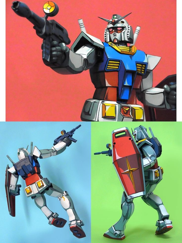 Old Kit 1/100 RX-78-2 Gundam remodeled and Painted in ANIME STYLE! BELIEVE IT or NOT, this is AMAZING!!!!! Full Photoreview Many Hi Res Images http://www.gunjap.net/site/?p=220222