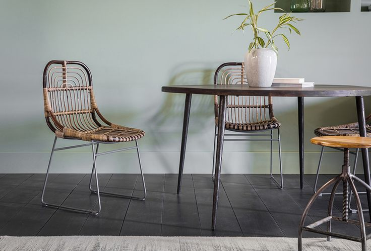 Lola Dining Table with Diego Chair & Roscoe Stool