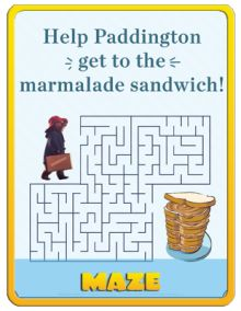 Maze | Free Paddington Printables, Games and Activities | SKGaleana