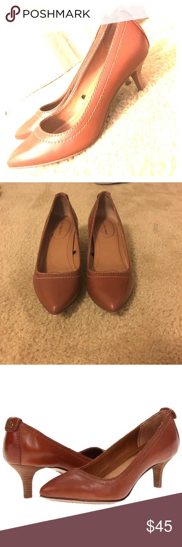 Calvin Klein Kaleigh Pump - Size 7. Worn twice. Adorable Calvin Klein pump perfect for work. Only reason I'm selling them is because the size was marked wrong in the store. Great quality! Calvin Klein Shoes Heels