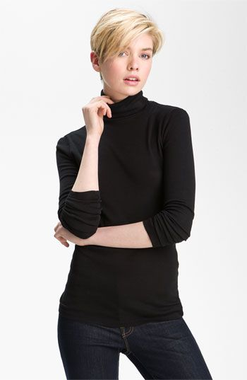 Splendid Fitted Turtleneck available at #Nordstrom
