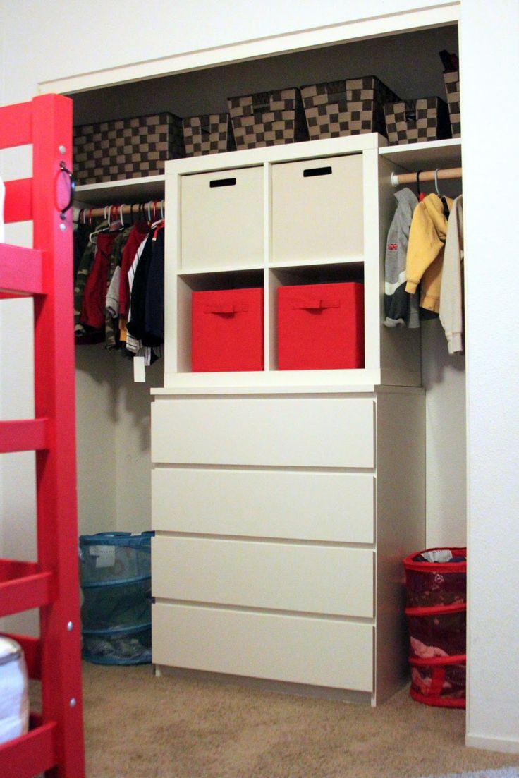 Ikea Malm 4 Drawer Dresser And Expedit 4 Square Shelf