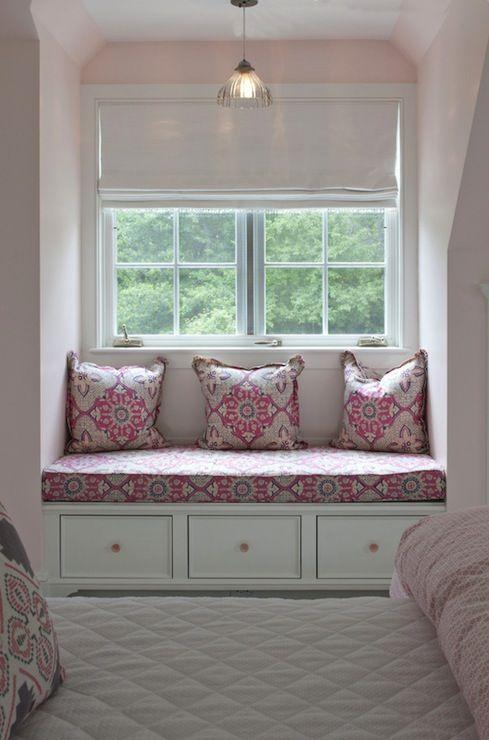 Nightingale Design - girl's rooms - pink girl room, pink girls room, pink girl bedroom, pink girls bedroom, princess bedroom, pink princess ...
