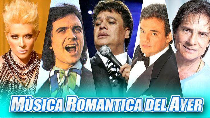 Musica Romantica Del Ayer #26 Roberto Carlos , Juan Gabriel, Rocio Durca...