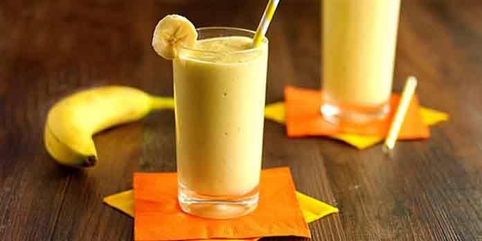 Банановый смузи с овсянкой | Готовим рецепты