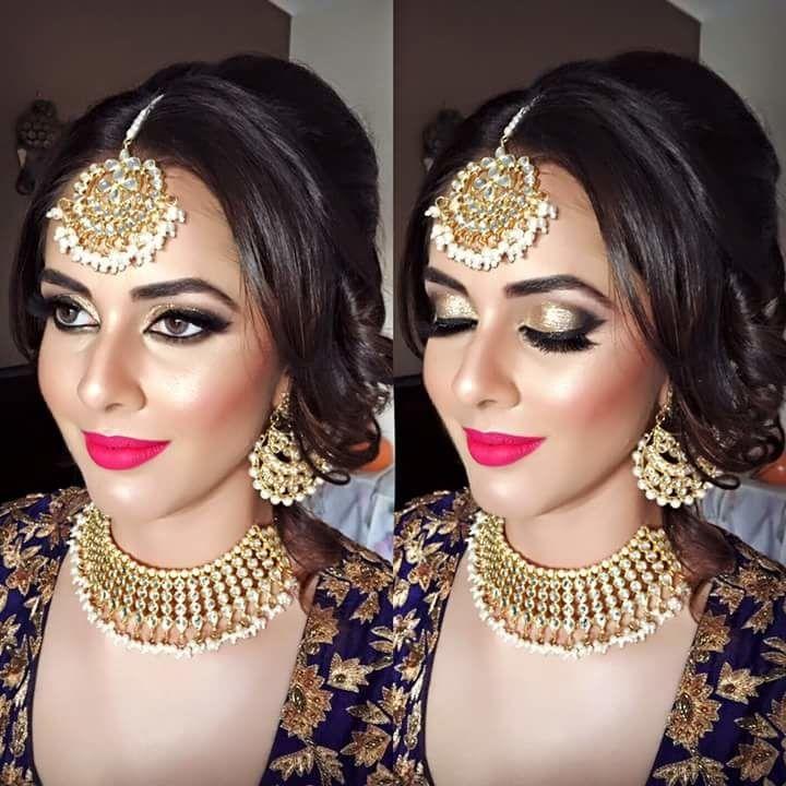 Bride's of 2015 - Kajol R Paswwan Bridal Makeup - via WedMeGood