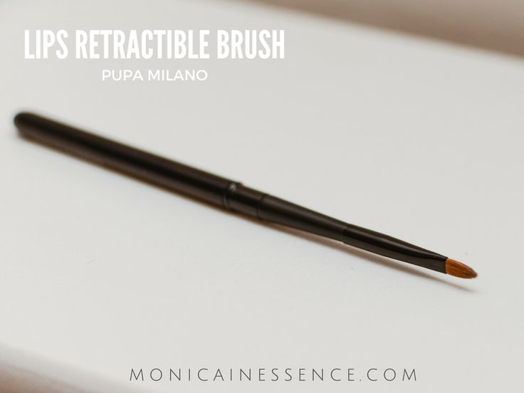 LIPS RETRACTIBLE BRUSH Pupa Milano
