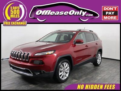 Ebay Cherokee Limited Off Lease Only 2017 Jeep Cherokee Limited 4