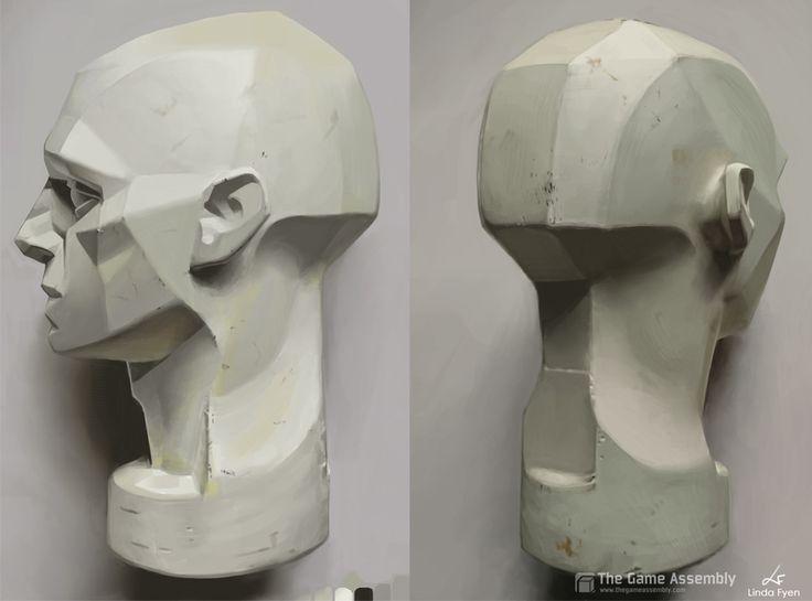 modeling comic heads - Buscar con Google