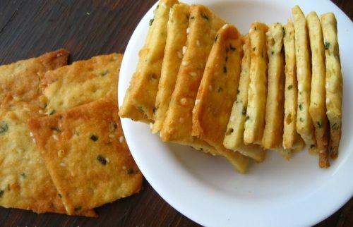 Печенье «Крекер» соленный на сыворотке