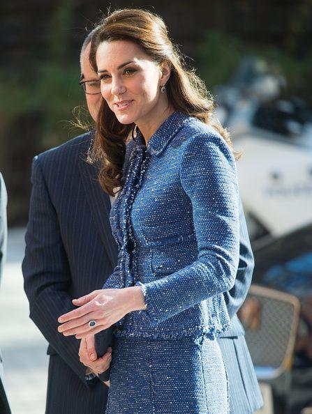The Duchess Of Cambridge Visits Ronald McDonald House Evelina London