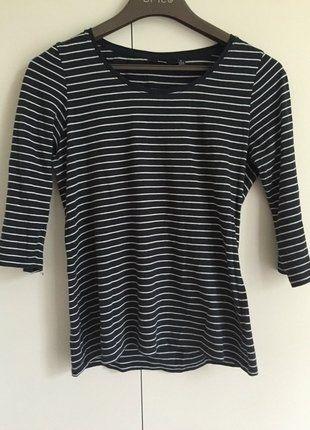 À vendre sur #vintedfrance ! http://www.vinted.fr/mode-femmes/hauts-and-t-shirts-t-shirts/25318535-t-shirt-kiabi-manches-34-taille-m