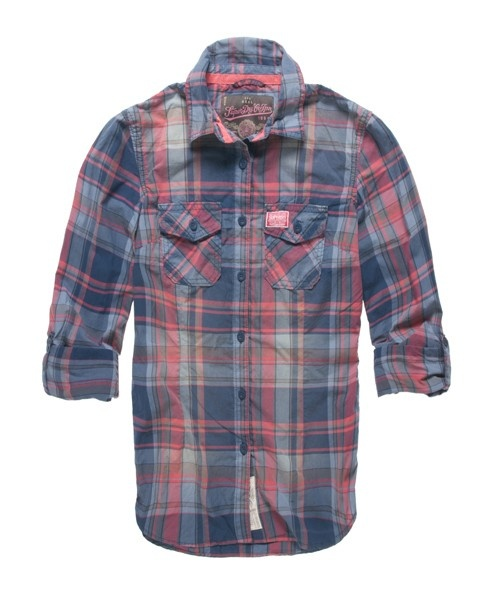 on the hunt for the perfect flanno Superdry Washbasket Check Shirt