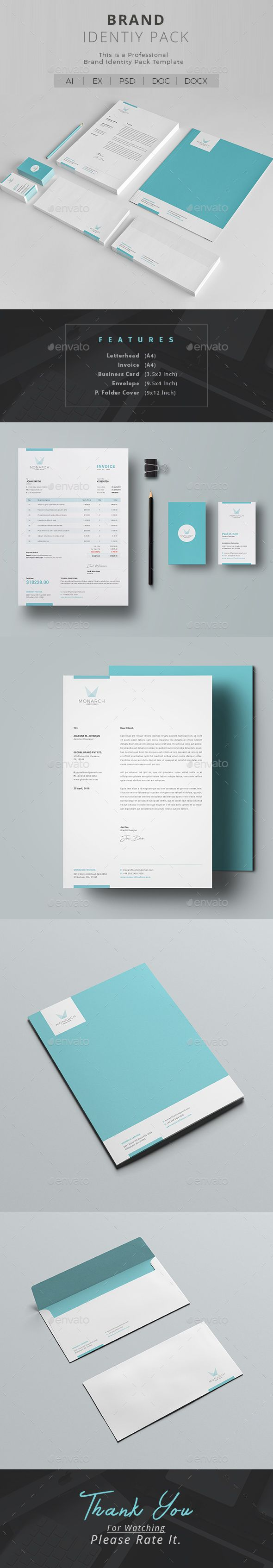 #Corporate #Identity - #Stationery Print Templates https://graphicriver.net/item/corporate-identity/20339647?ref=alena994