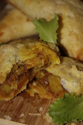 Lamb Curry Empanada's