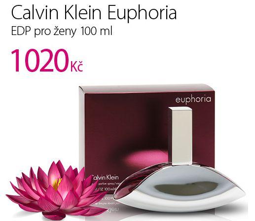 Calvin Klein Euphoria AKCE JEN 1020 Kč http://www.parfums.cz/calvin-klein/euphoria-parfemovana-voda-pro-zeny/