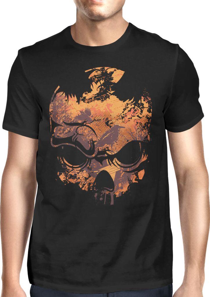 Jungle Skull - Dhaporshankh Guys Tee