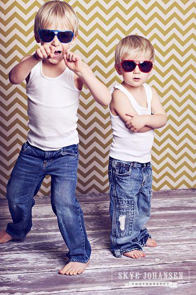 tanks, jeans, sunglasses