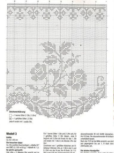 Diana Bistro Gardinen D 1302 - Zosia - Picasa Web Albums Filet crochet floral, dainty, lacy kitchen curtain chart / graph  No. 111