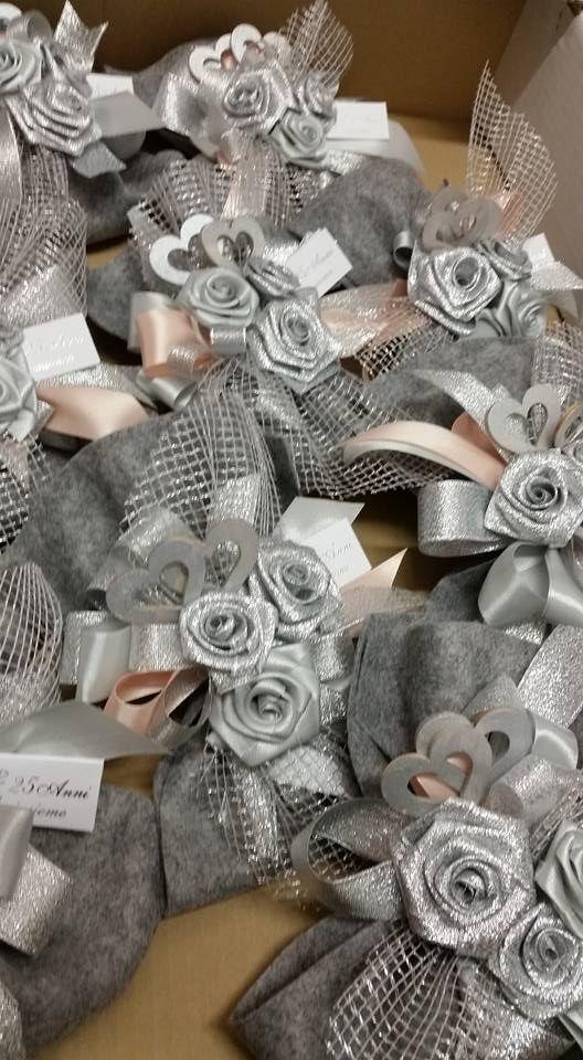 Bomboniere per nozze d argento zm96 regardsdefemmes for Idee regalo per 25 anni matrimonio