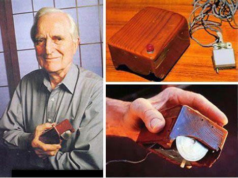 #UnDiaComoHoy 1970 en Estados Unidos, Douglas Engelbart patenta el primer mouse de computadora.