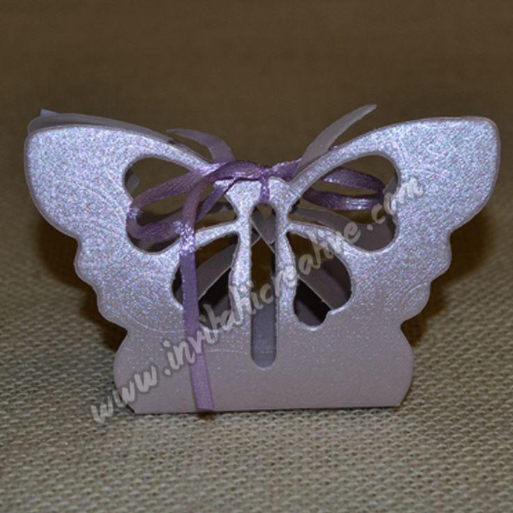 Cutiuta Fluture Lila Botez by InvitatiiCreative.deviantart.com on @DeviantArt