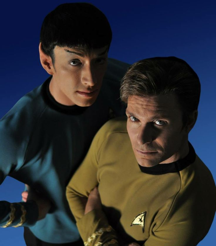 Star Trek Continues {with anime voice actors, no less!} Vic Mignogna and Todd Haberkorn