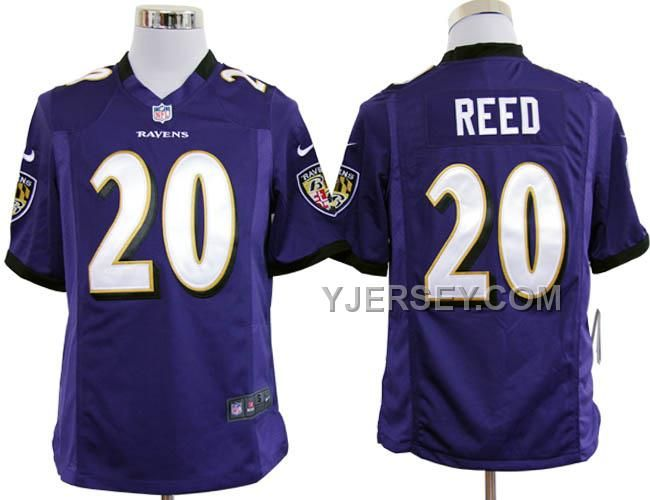 http://www.yjersey.com/nike-ravens-20-reed-purple-game-jerseys-discount.html NIKE RAVENS 20 REED PURPLE GAME JERSEYS DISCOUNT Only 36.00€ , Free Shipping!