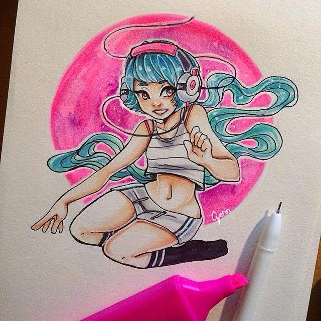 Laura Brouwers @cyarine I do draw traditi...Instagram photo | Websta (Webstagram)