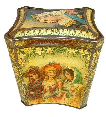 McFarlane Lang, British biscuit tin - Diamond Jubilee Queen Victoria.1897