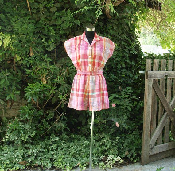 playsuit button 1970s - Google Search