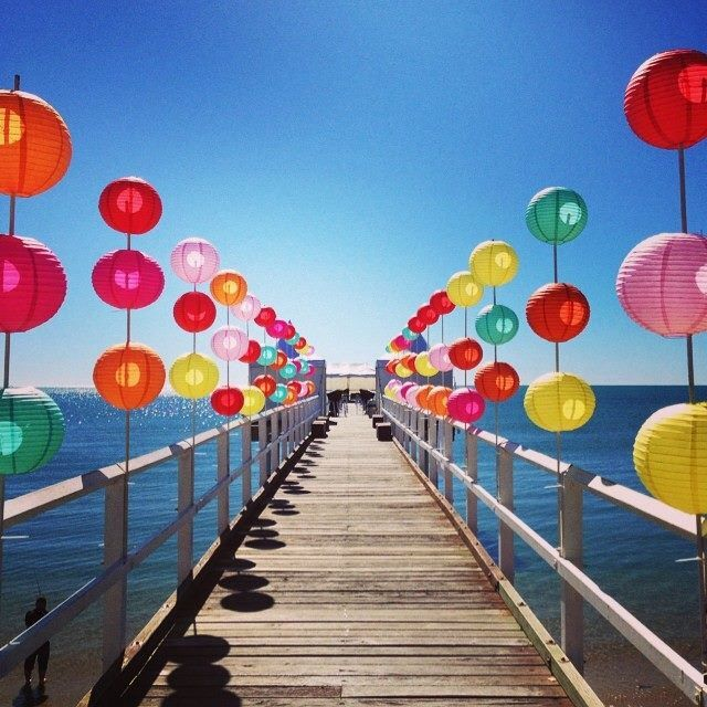 Sunset Pier party, Hervey Bay, Queensland   photo: Visit Fraser Coast
