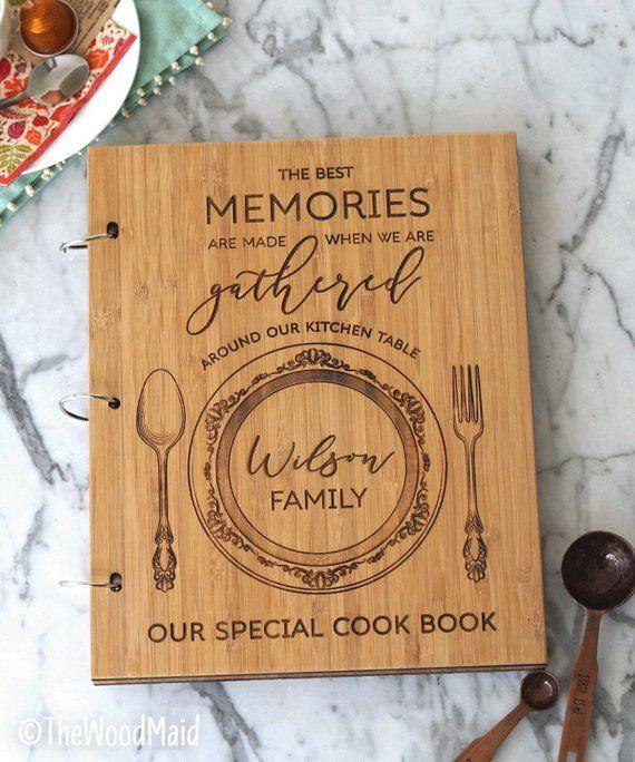 Custom Large Recipe Book Binders Create Your Own Cookbook Etsy Recipe Book Design Recipe Book Diy Scrapbook Recipe Book