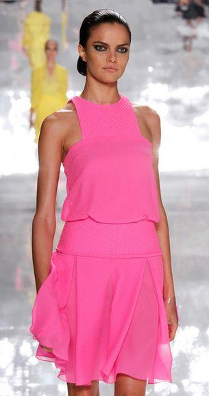 think pink- Chado Ralph Rucci Spring 2013