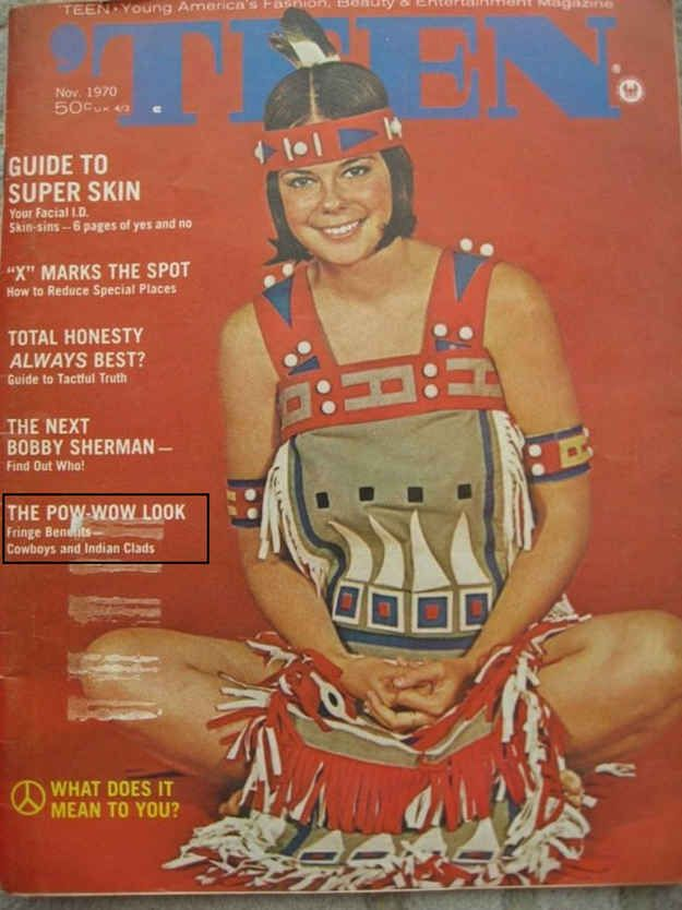 "Teen , 1970: ""The Pow-Wow Look"" 