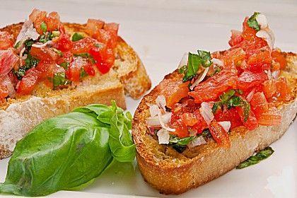 Bruschetta mit Tomaten und Knoblauch, ein beliebtes Rezept aus der Kategorie Kalt. Bewertungen: 200. Durchschnitt: Ø 4,6.
