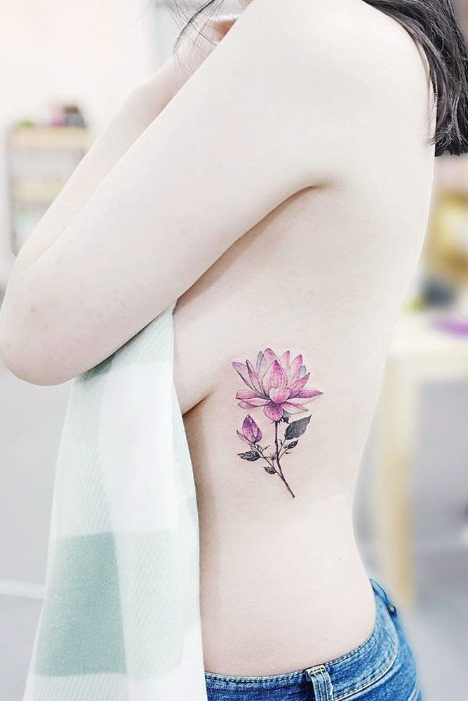 ee2e44613 Pin by Beautiful Tattoos And More on Tattoos on back | Flower tattoos,  Flower hip tattoos, Tattoos