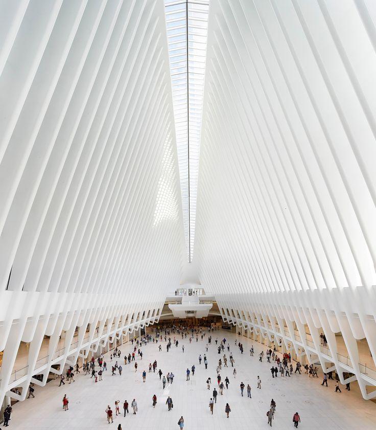 World Trade Center Transportation Hub Oculus by Santiago Calatrava                                                                                                                                                                                 More