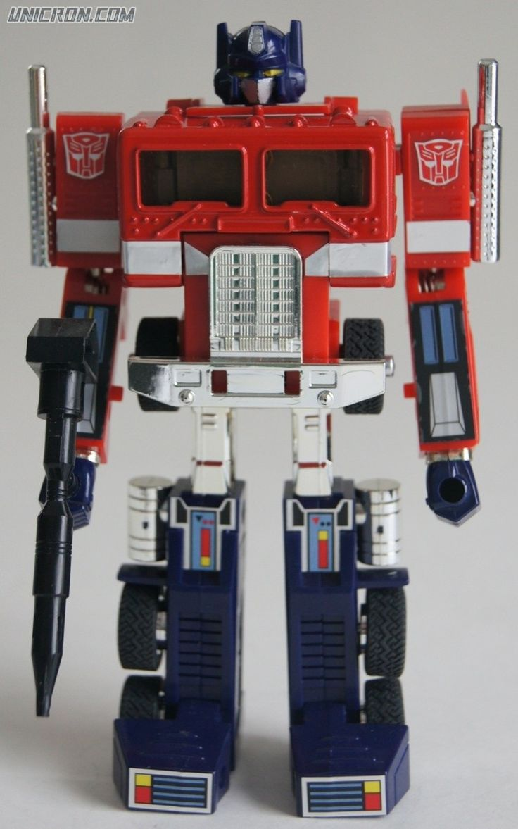 Transformers G1 Optimus Prime toy