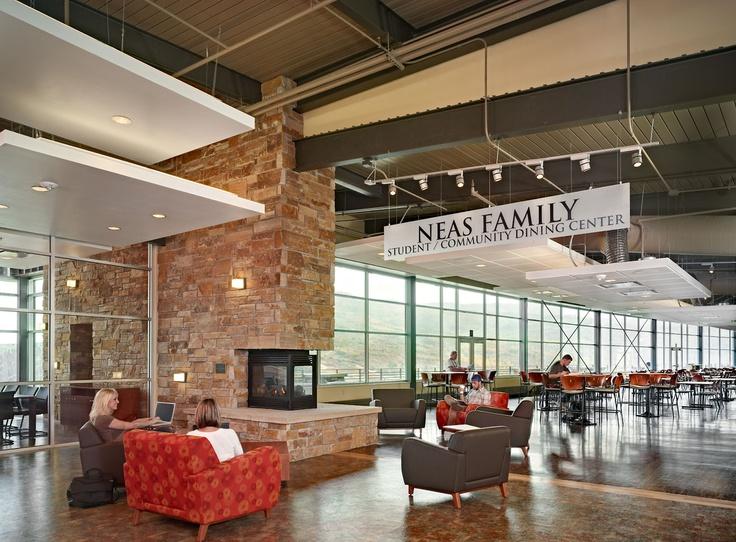 Colorado Mountain College Alpine Campus Center Dining Area