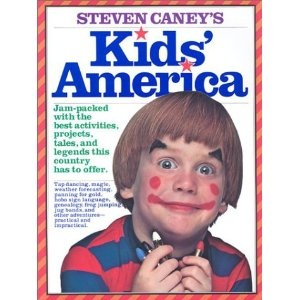 Steven Caney's Kids' America. Great book from the 70s with TONS of projects for kids. Pick up a copy at the library or a used bookstore.