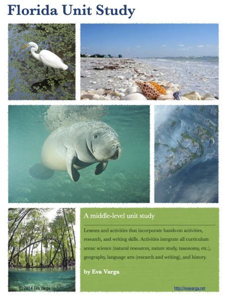 Florida Ecology Unit: Free Unit Study for Earth Week 2014 - Eva Varga