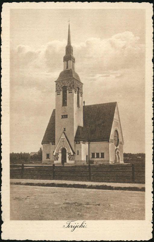 The Terijoki Church, today on the Russian side after the war | Лютеранская церковь в Териоках / Terijoen kirkko