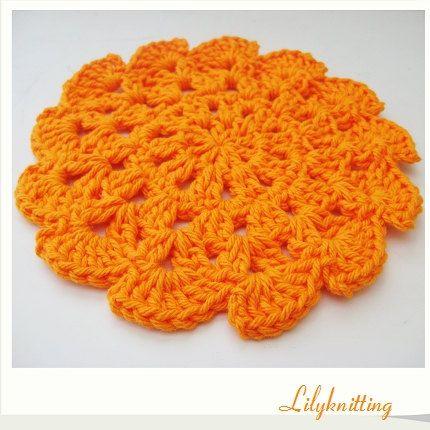CROCHET DISHCLOTH FREE PATTERN ROUND - Crochet — Learn