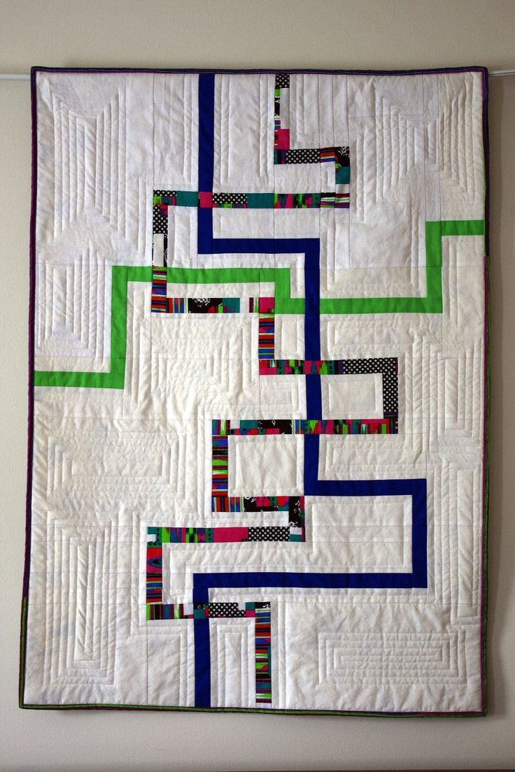 Image result for modern quilt wall hangings
