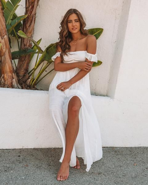 e098e529b53a3 Our Can't Hurry Love Maxi Dress is simply stunning in this gauzy  fabrication. The elastic ruched bust is complemented by a flowy skirt that  ...