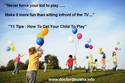Trying Hard To Get Your Child To Go Outside And Play? Here are 11 Tips that will help you........http://bit.ly/1bZs64y