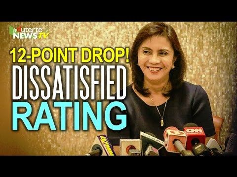HATOL NG BAYAN: Robredo suffers 12-point net satisfaction drop! - WATCH VIDEO HERE -> http://dutertenewstoday.com/hatol-ng-bayan-robredo-suffers-12-point-net-satisfaction-drop/   Welcome to my channel.  You are in a 'one-stop-news-channel'! NEWS TV is a place where you can find news updates and latest trends in the Philippines. We grab the best stuffs and reupload here.  What's new in politics, entertainment, culture, lifestyle, and Duterte – ENJOY in hd/...