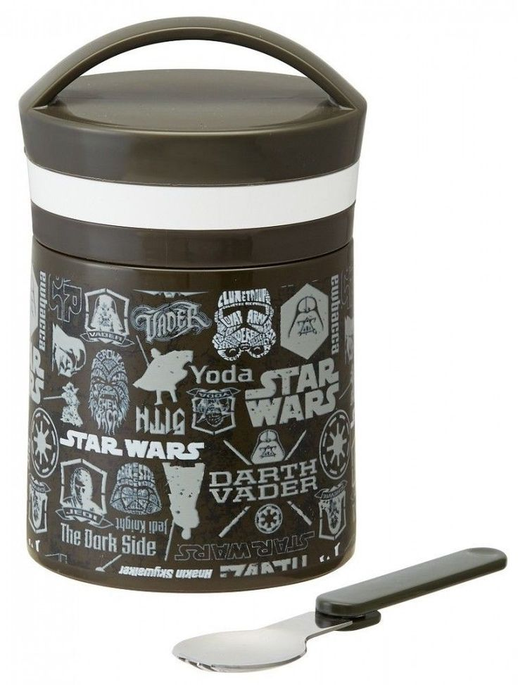 Star Wars Delica pot 500ml Keeping Warm Cold  LJF5 from Japan Free shipping  #SkaterSKATER