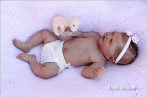 *A Romie Baby *SOLID Full SILICONE DOLL ***LENNOX*** #2 Romie Strydom | eBay
